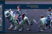 Garments of the Nightsilver Sentinel